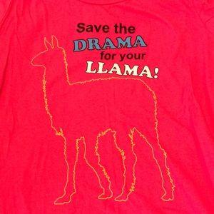 Tops - Save the Drama for LLAMA T-shirt